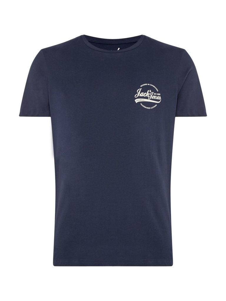 Men's Jack & Jones Raf Small Logo T-Shirt, Blue