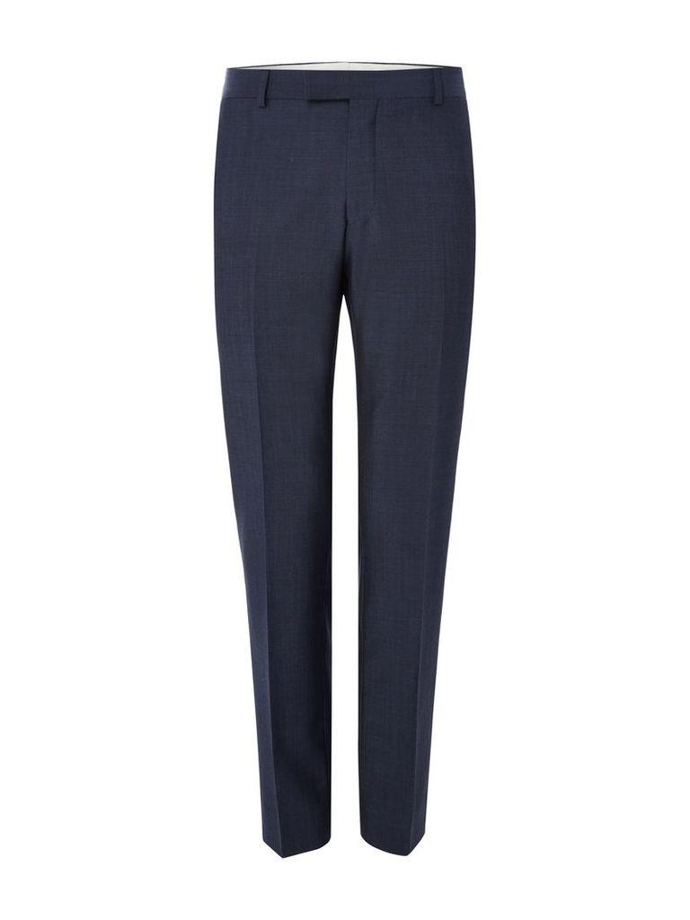 Men's Richard James Mayfair Tonic Mohair Suit Trouser, Blue