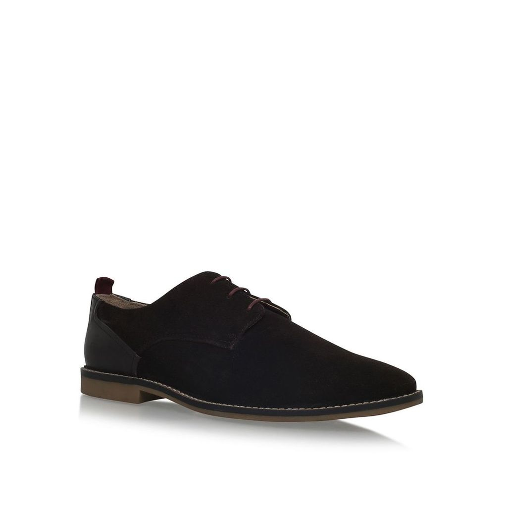 KG Kettering flat lace up shoes, Brown