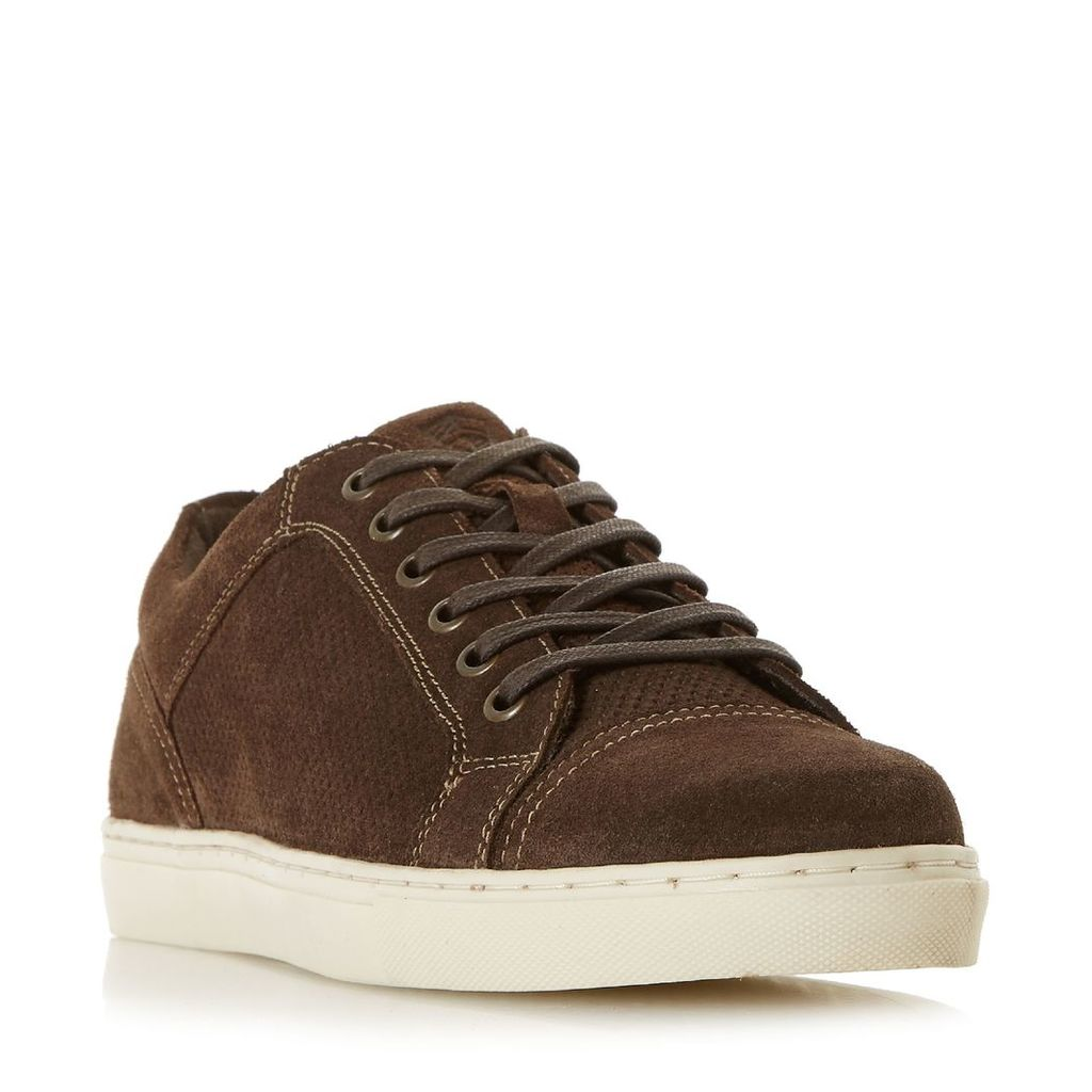 Howick Tyrant Ii Cupsole Embroidery Trainers, Brown