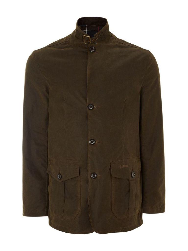 Men's Barbour Wax lutz jacket, Olive
