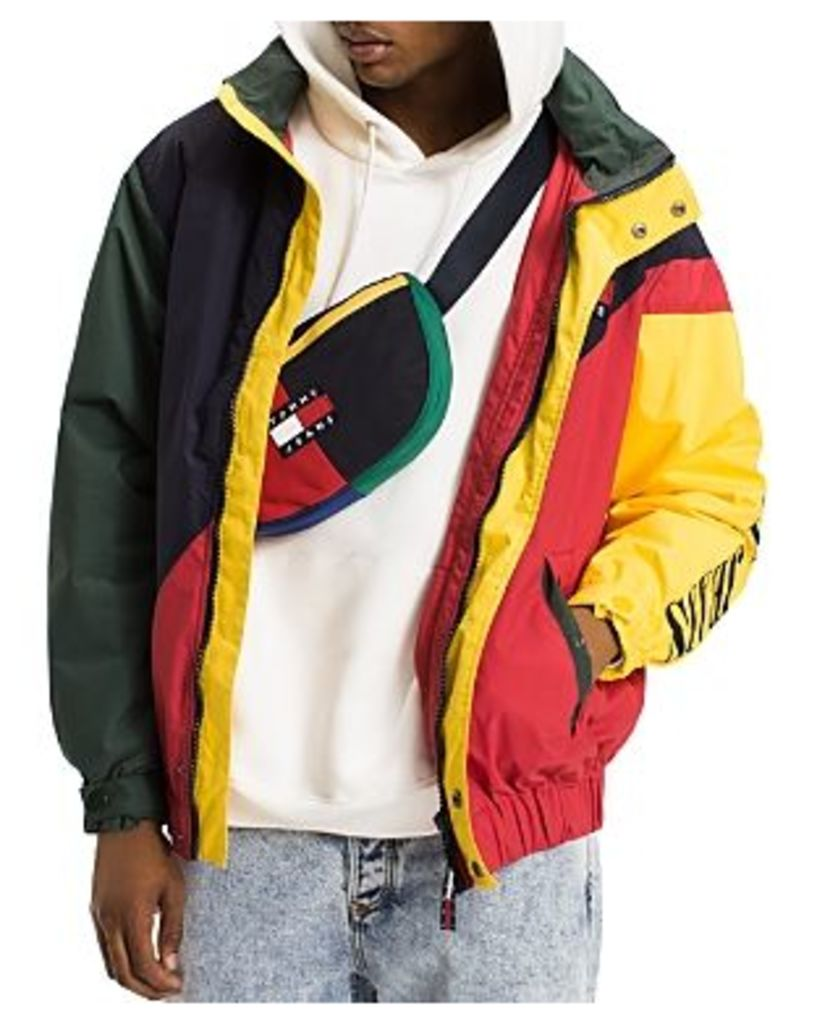 Tommy Hilfiger Tommy Jeans 90's Color-Blocked Hooded Sailing Jacket
