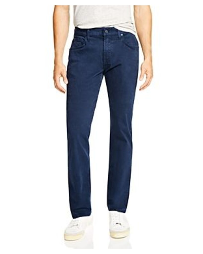 7 For All Mankind The Straight Luxe Performance Sateen New Tapered Fit Jeans - 100% Exclusive