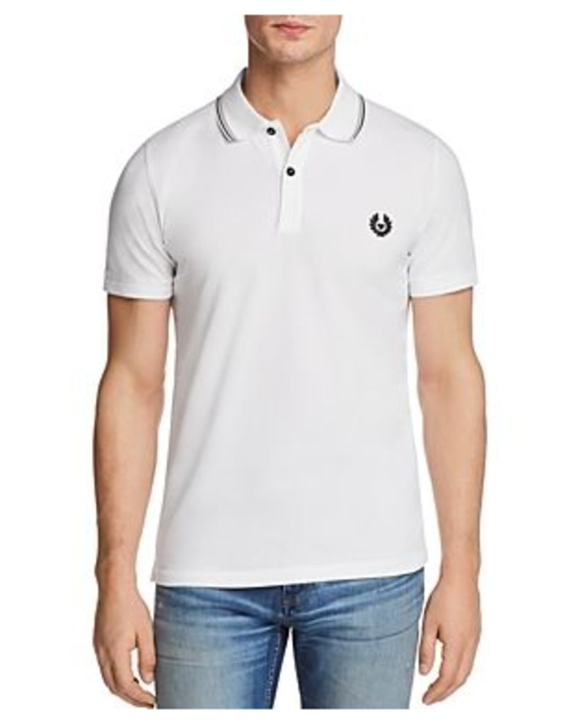 Belstaff Stewarton Tipped Short Sleeve Polo Shirt