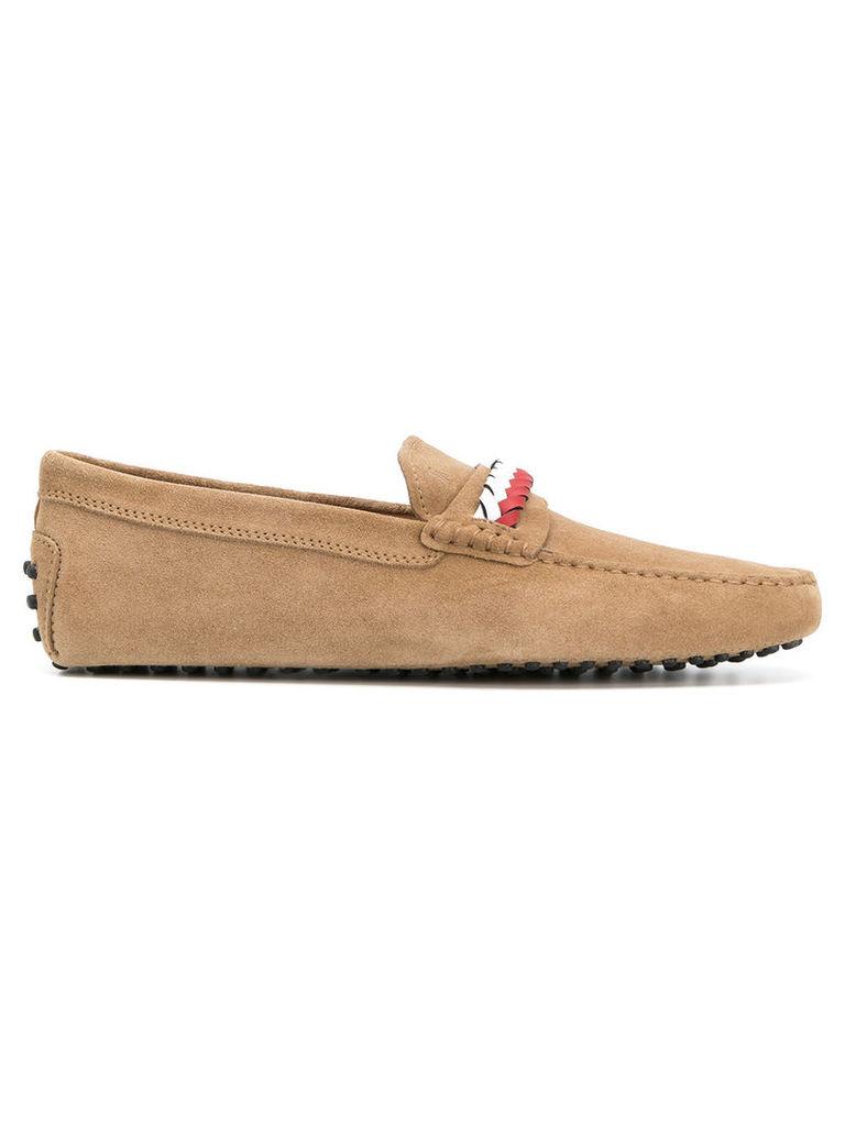 new gommini intreccio loafers - Nude & Neutrals Tod's acC2wdEO