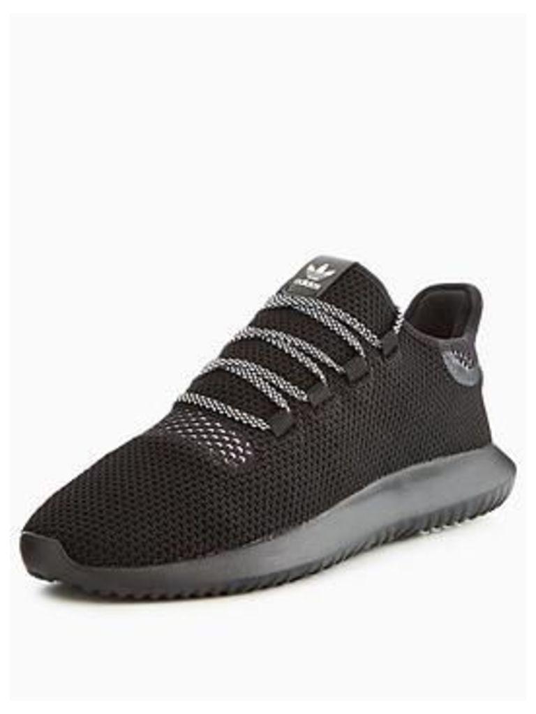 51a8e148c3f adidas Originals Tubular Shadow Roller Knit - Black Grey