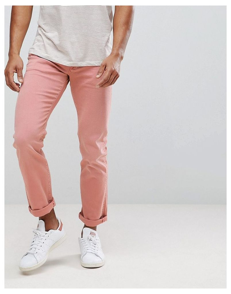 83031a126 Tommy Hilfiger Bleecker Slim Fit Jeans in Washed Pink - Dusty rose ...