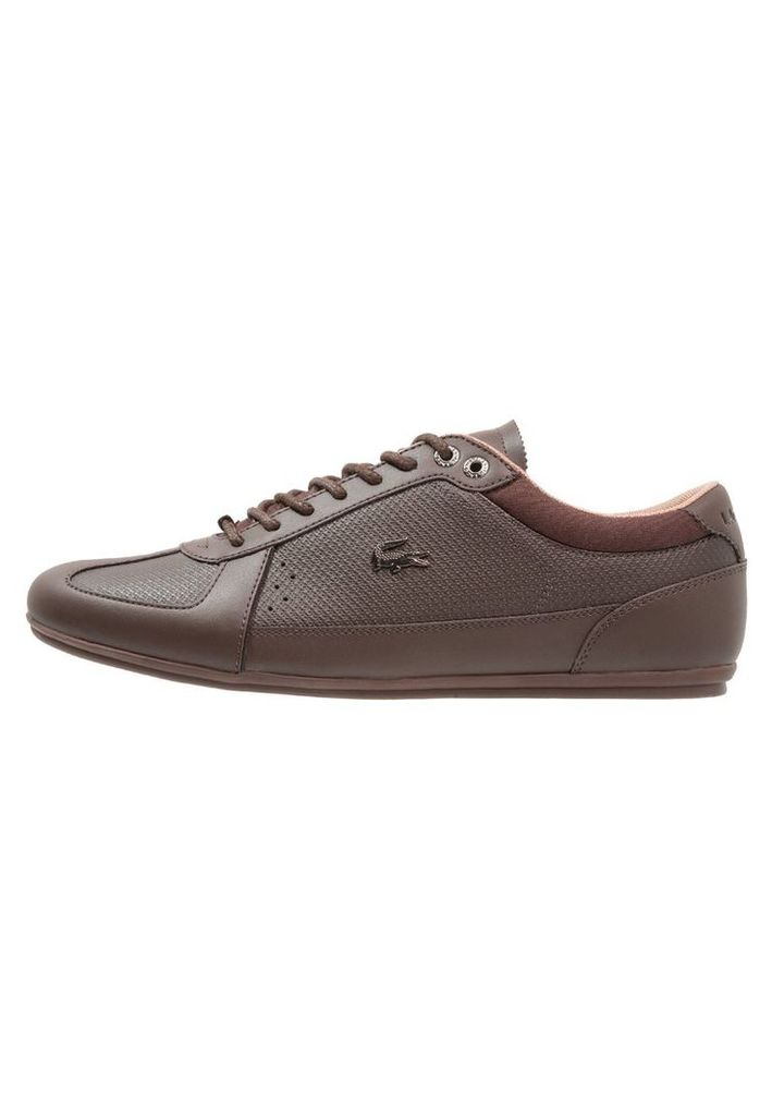 Lacoste EVARA - Trainers - brown/dark brown BPAwFdQPa