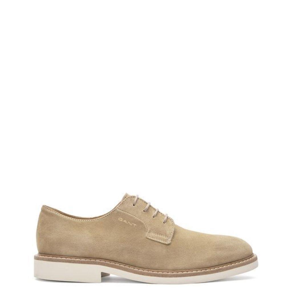 Parker Suede Shoe - Seed Melange GANT jp4RfrkN