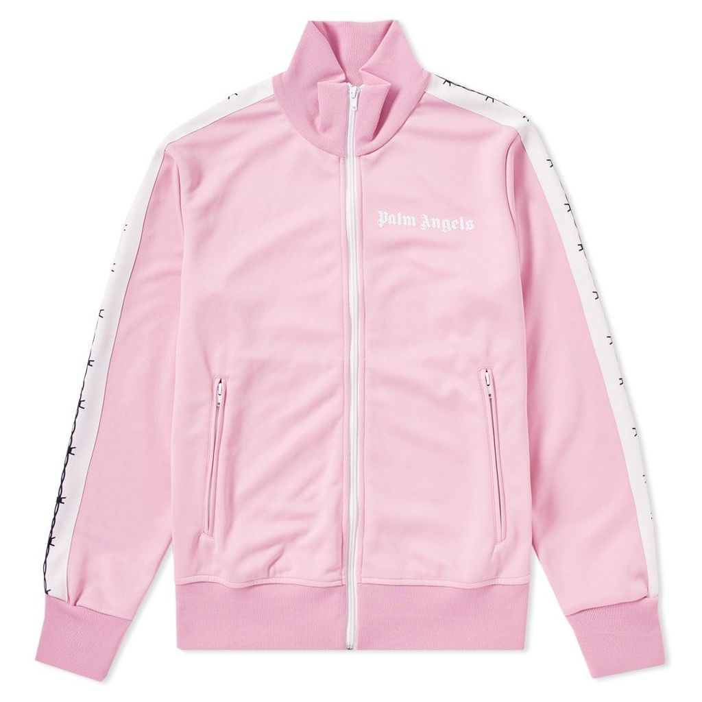 Palm Angels Taped Track Jacket Pink