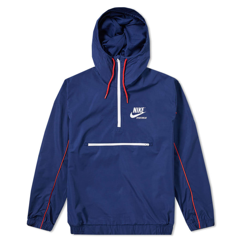 Nike Archive Hooded Jacket Blue