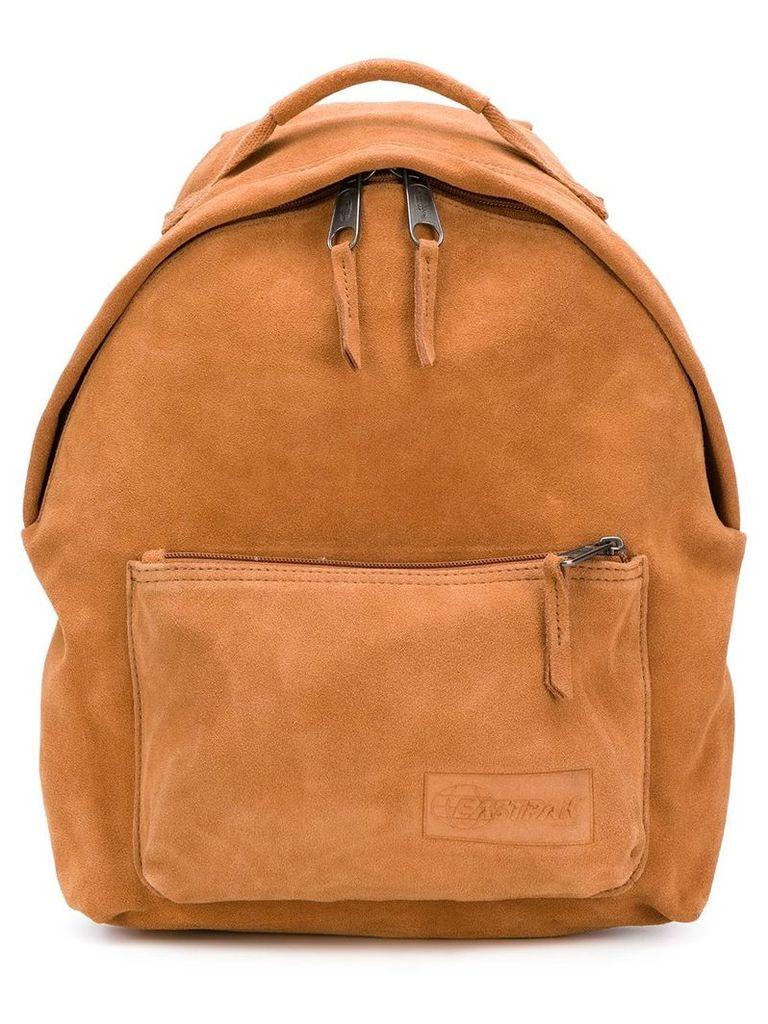 Eastpak logo embossed backpack - Brown
