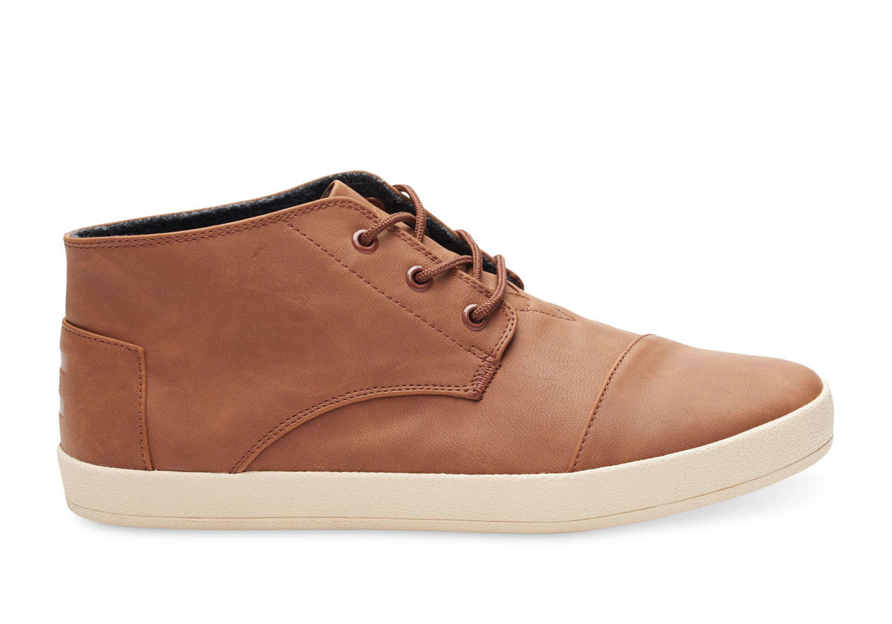 Dark Earth Synthetic Leather Men's Paseo Mids