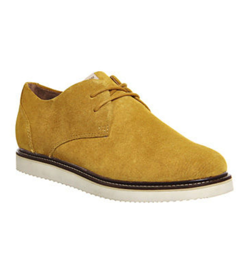 Pointer Crago Lace Up MUSTARD NUBUCK,Yellow,Green