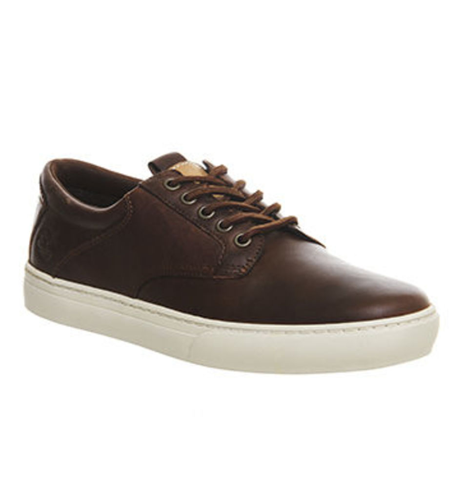 Timberland Adventure 2.0 Cupsole Oxford DARK BROWN LEATHER,Brown,Tan Brown