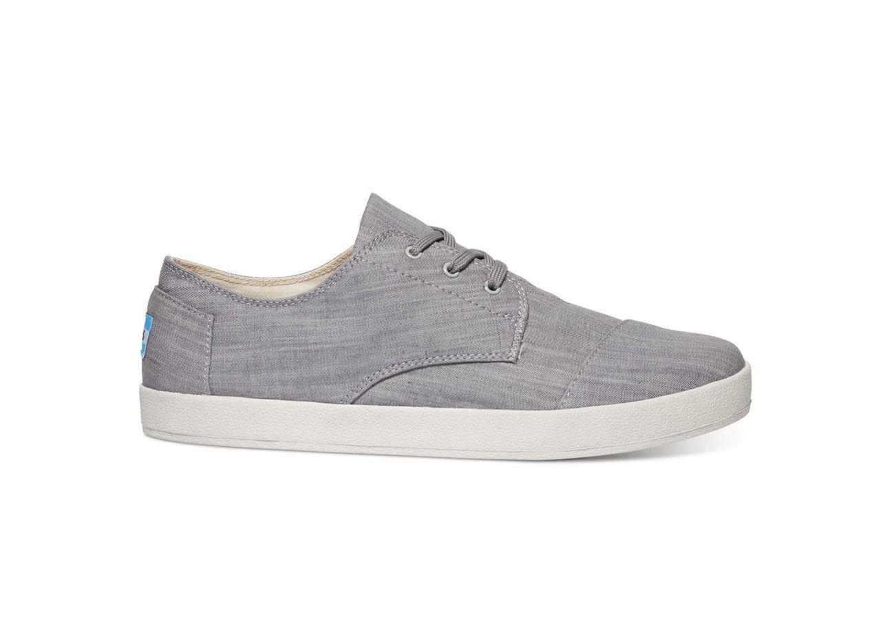 Grey Denim Men's Paseos Sneakers