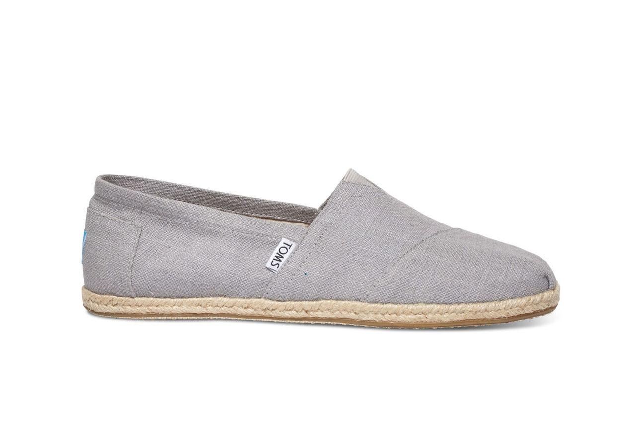 Grey Linen Men's Classics