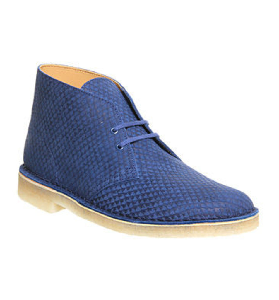 Clarks Originals Desert boots BLUE REPTILE,Brown,Black,Blue,Grey,Natural