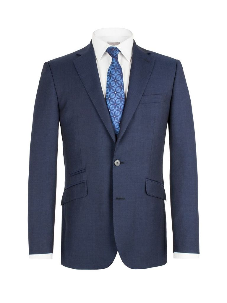 Men's Alexandre Savile Row Single breasted tail jacket, Blue